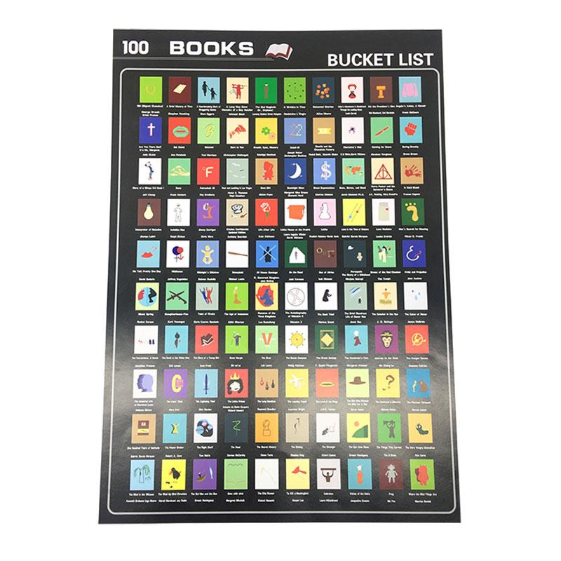 Dezheng sm001 scratch off books manufacturers For-1