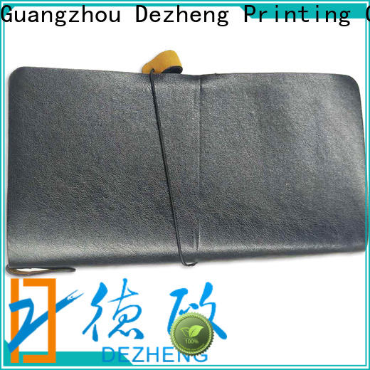 Dezheng best leather bound notebook For student