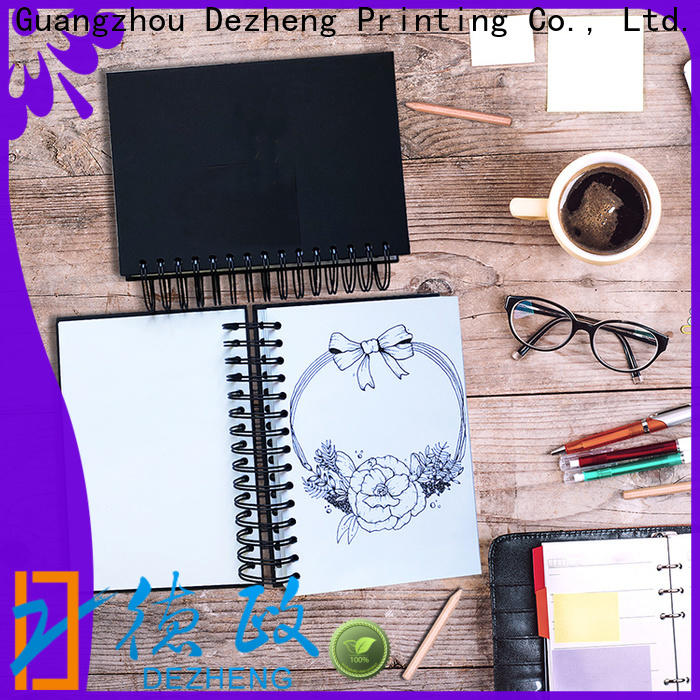 Dezheng Customized sketchbooks customization For notebook printing