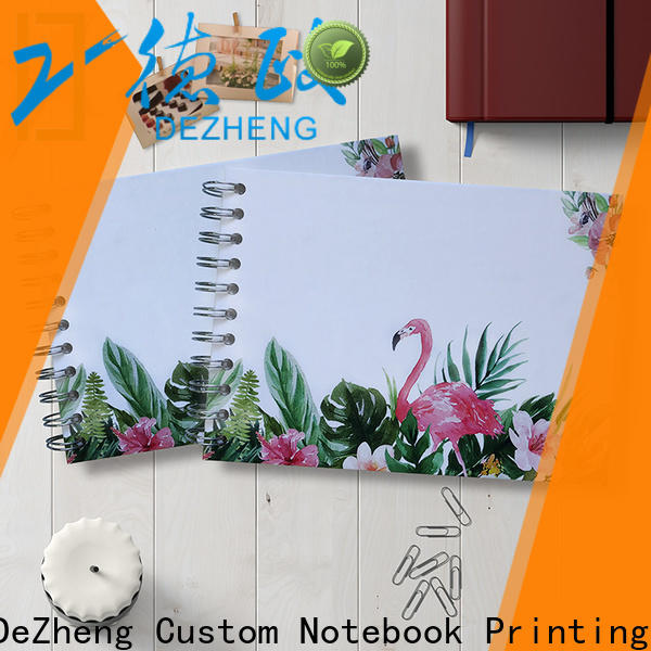 Dezheng portable photo album with self stick pages customization for festival