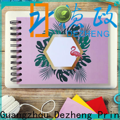 Dezheng Top self adhesive album manufacturers for festival