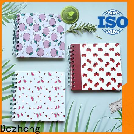 Dezheng hardcover self adhesive album customization for friendship