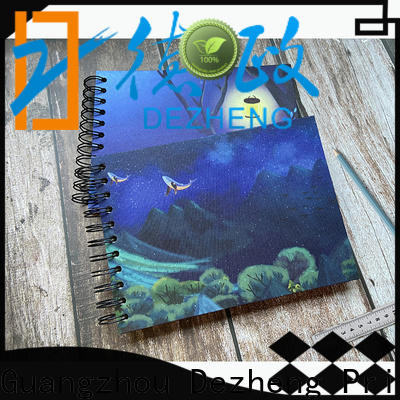 Dezheng leather Notebook Supplier factory For DIY