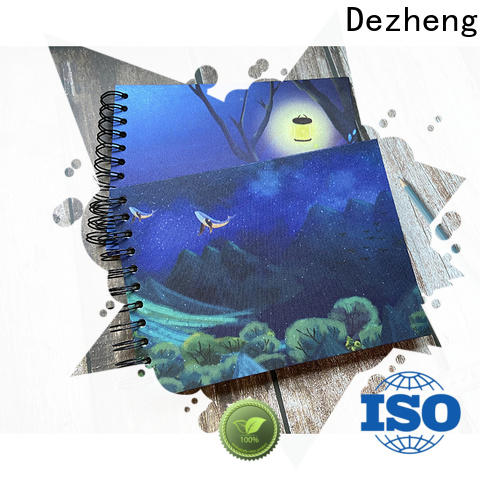 Dezheng Latest self adhesive photo albums factory for gift