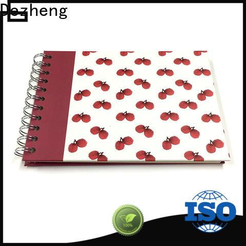 Dezheng scrapbook style photo album for business for friendship