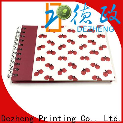 Dezheng portable scrapbooking album photo factory for friendship