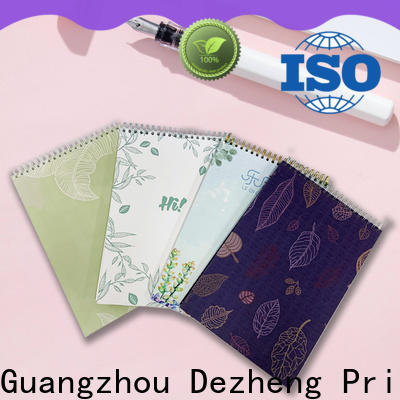 Dezheng latest Paper Notebook Manufacturers for journal