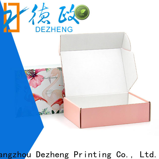 Dezheng packaging custom jewelry boxes company for festival