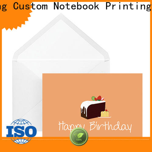 Dezheng portable unusual birthday cards company For gift card