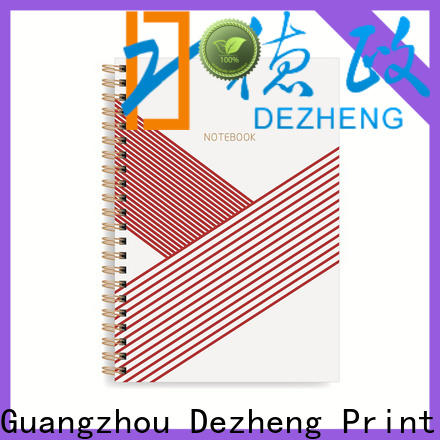 Dezheng Best top bound spiral notebook Suppliers for note taking