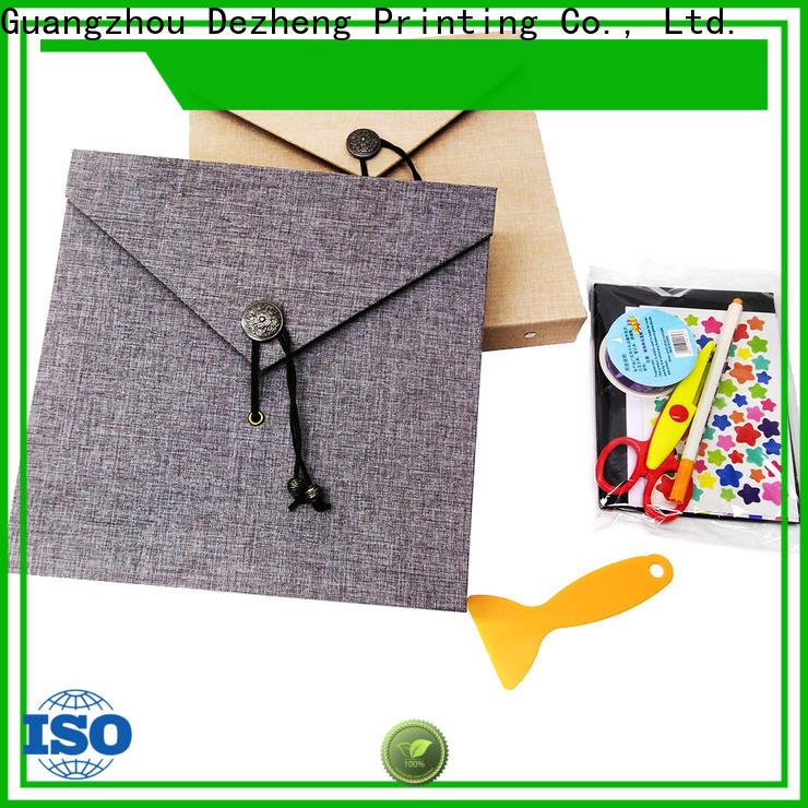 Dezheng closure self adhesive photo albums for sale Supply for festival