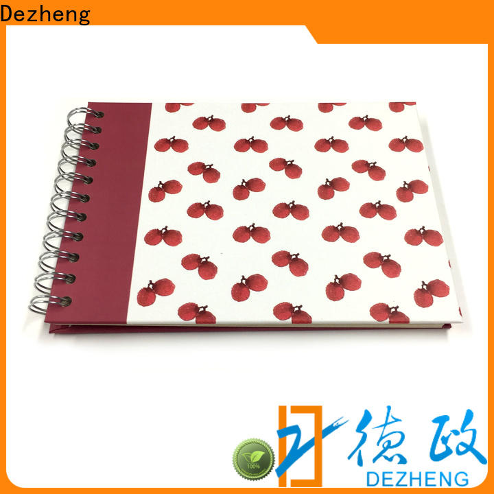 Dezheng Latest self stick albums Supply for gift