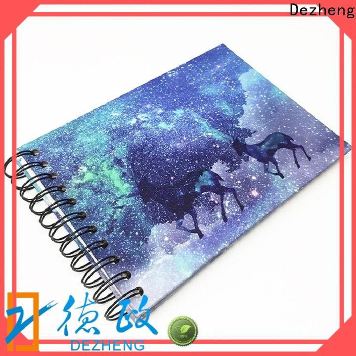 Dezheng 12x12 photo album with self stick pages factory for friendship