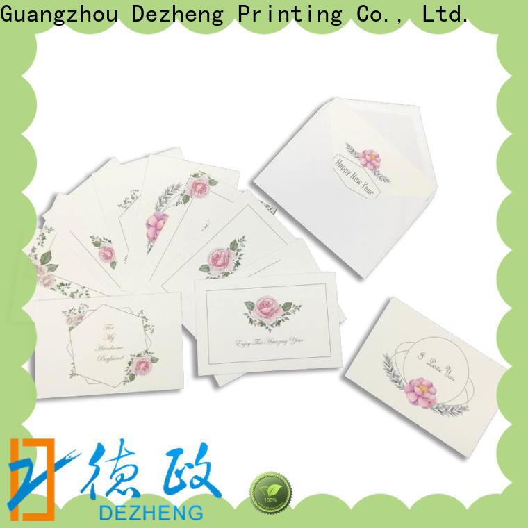 Dezheng New custom notebook manufacturers Supply