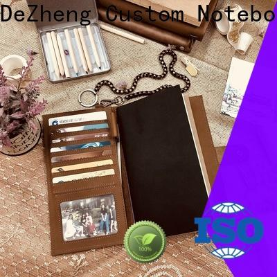 Dezheng personalized leather bound journal company For meeting