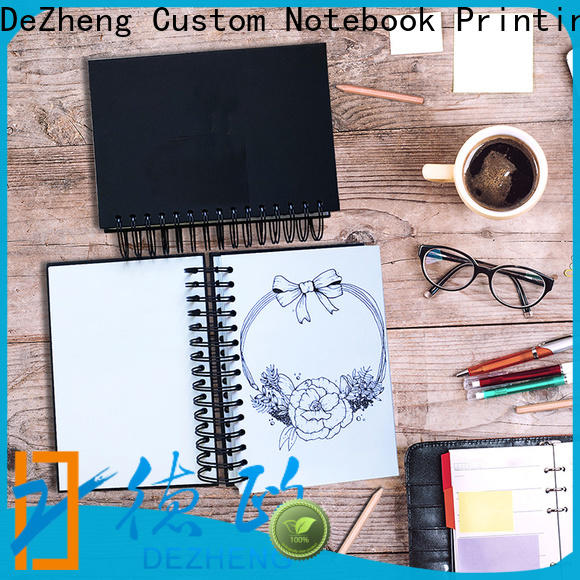 Best sketchbook custom free design company For notebook printing