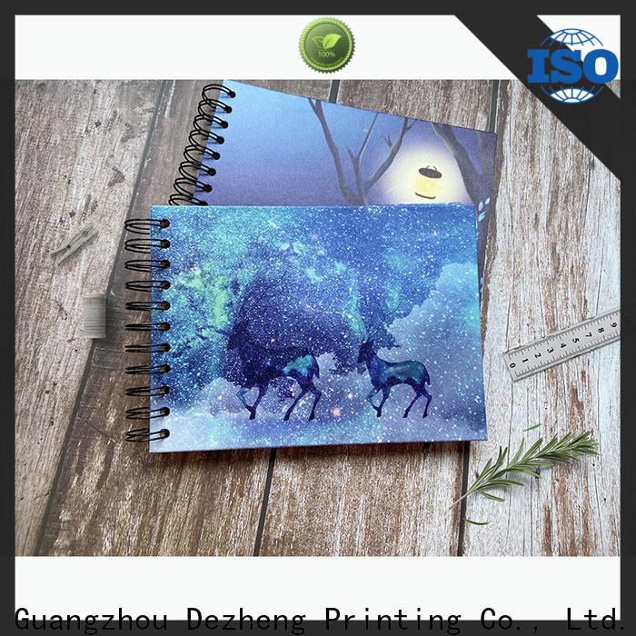 Dezheng Top photo album scrapbook company for gift