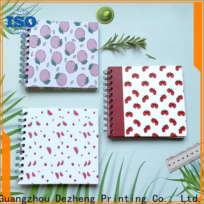 Dezheng Custom Wholesale Paper Notebook Suppliers customization For DIY
