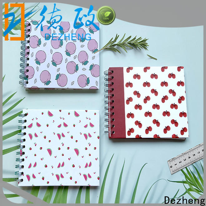 Dezheng Custom scrapbook style photo album Supply for festival
