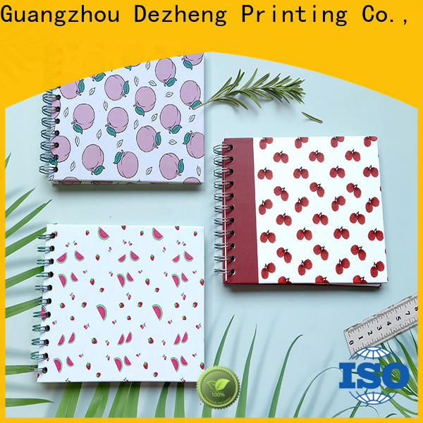 Dezheng latest scrapbook photo album company for festival