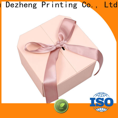 Dezheng High-quality paper box jewelry company for festival