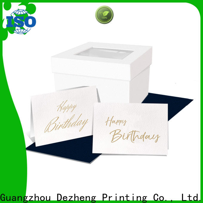 Dezheng children birthday cards for friends manufacturers For gift card