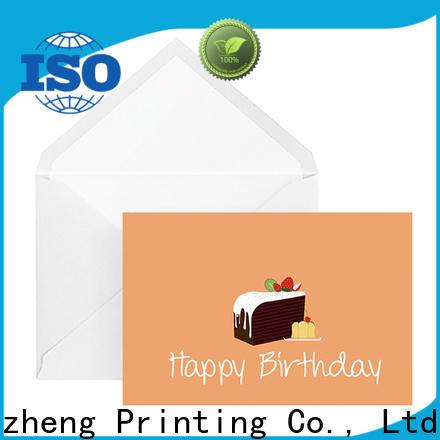 Dezheng Top happy birthday card maker customization