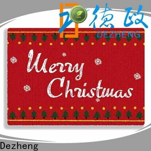 Dezheng christmas christmas tree greeting card manufacturers