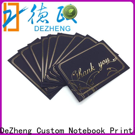 Dezheng Custom gift card manufacturers customization for gift