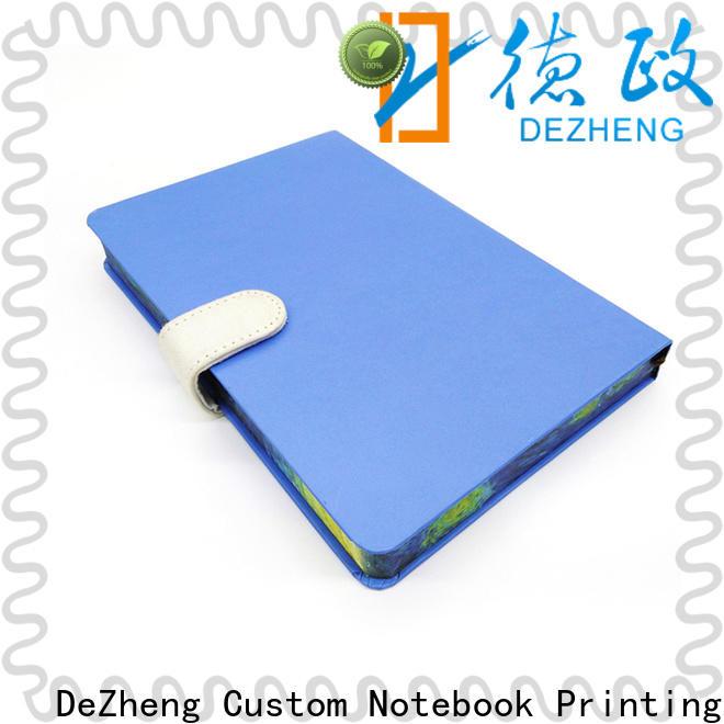 Dezheng Custom School Notebook Manufacturers Supply For journal