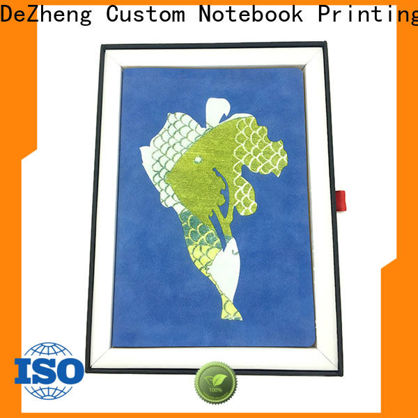 Dezheng printed custom notebook company For school