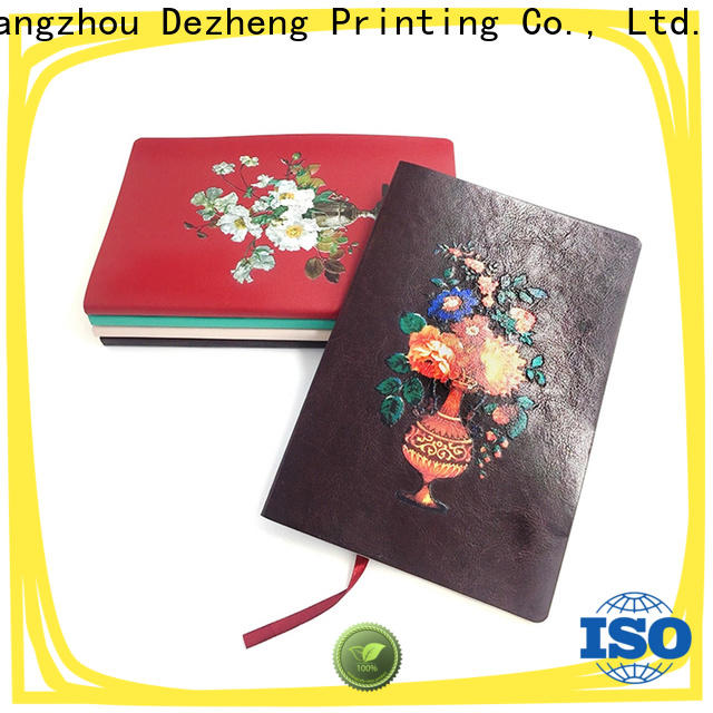 Dezheng New leather journal notebook Suppliers For school