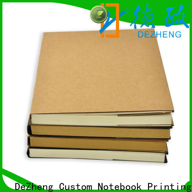 Dezheng free design Journal Wholesale Suppliers factory For notebooks logo design
