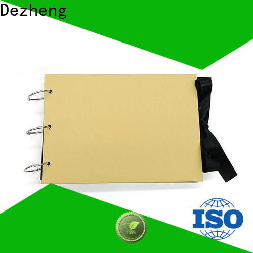 Dezheng anniversary Scrapbook Wholesale Distributor manufacturers For Memory