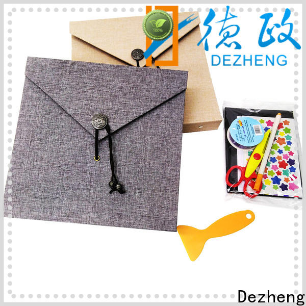 Dezheng latest self adhesive photograph albums customization for friendship