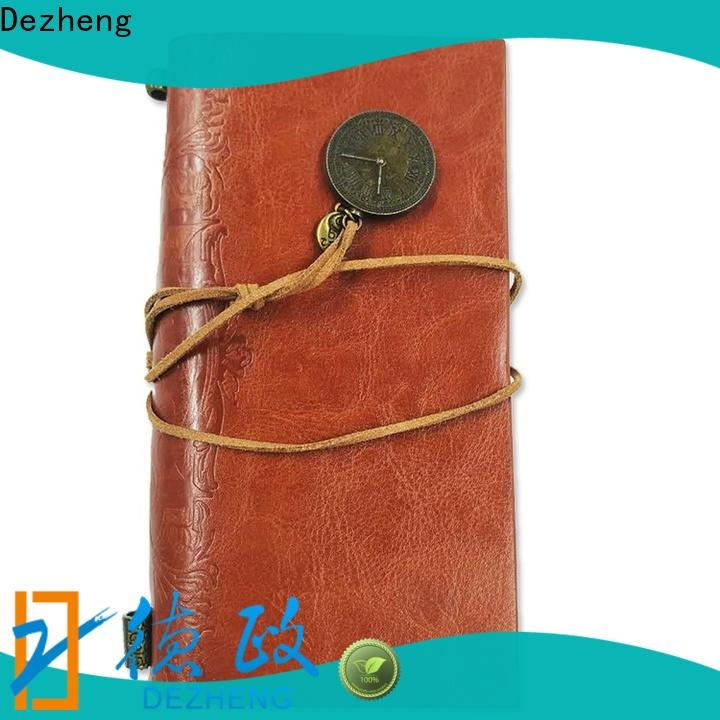 Dezheng latest best leather bound journals customization For business