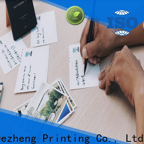 Dezheng Wholesale custom greeting card printing Suppliers for festival