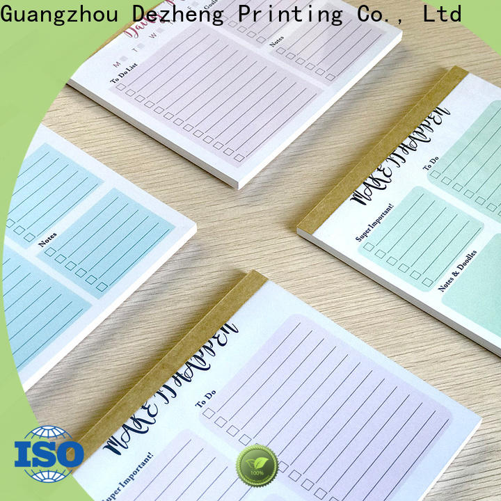 quality to do list book manufacturers