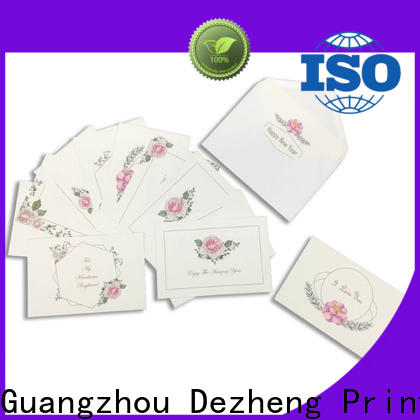 Dezheng Wholesale universal wedding cards company