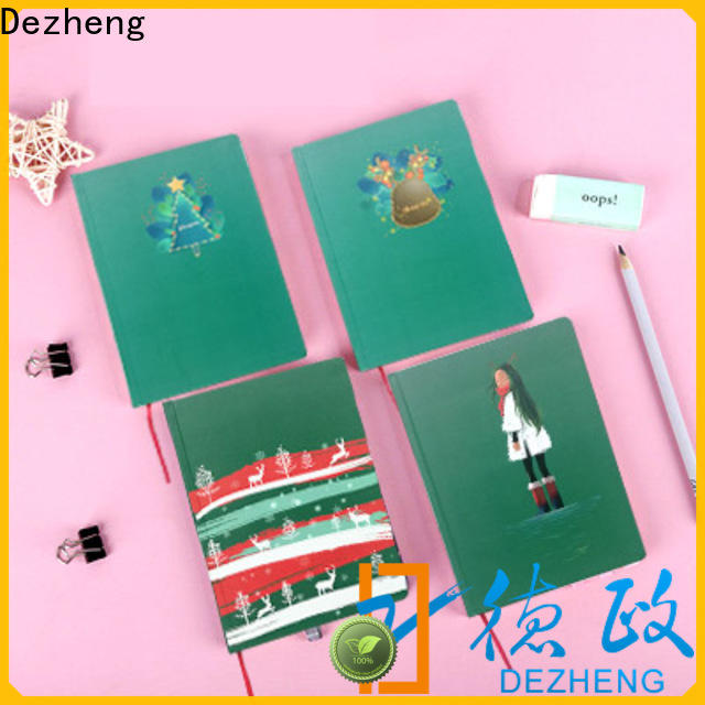 Dezheng latest hardcover executive notebooks factory For note-taking