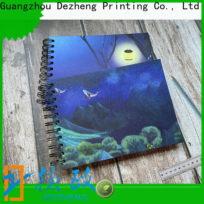 Dezheng High-quality self-adhesive photo album manufacturers for gift