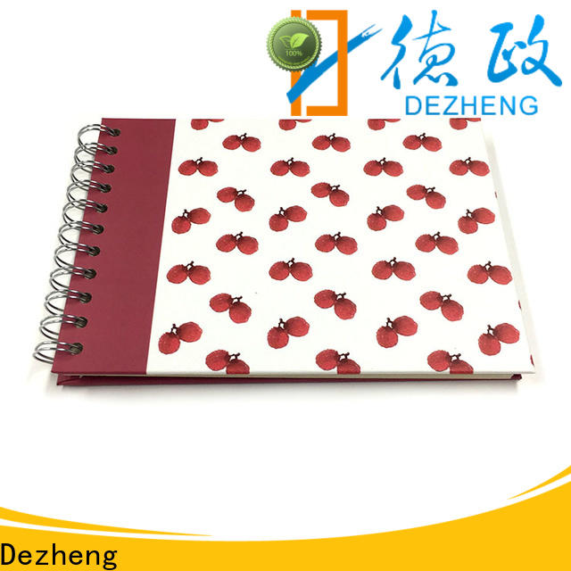Dezheng 10x10 photo album self adhesive pages customization for gift