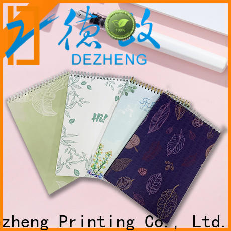 Dezheng Wholesale School Notebook Manufacturers Supply for notetaking