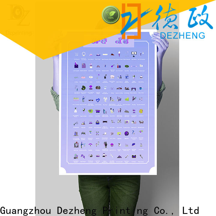 Dezheng scratch map for sale for business For business