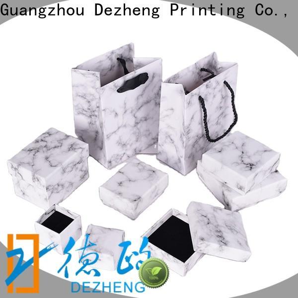Dezheng custom jewelry boxes company