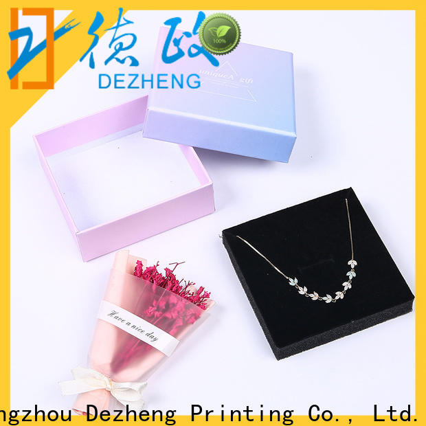 Dezheng factory cardboard packing boxes for sale Suppliers