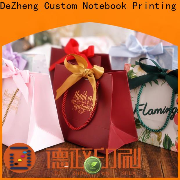 Dezheng Suppliers kraft paper gift box customization