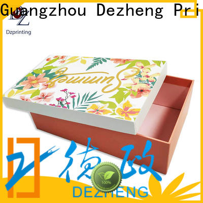 Dezheng paper jewelry box Suppliers