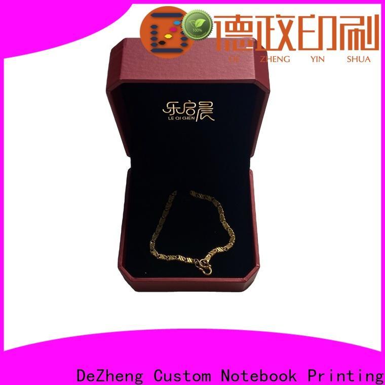 Dezheng paper jewelry gift boxes customization
