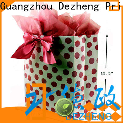 Dezheng factory packing paper box for business